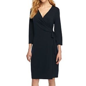 Limited Black Wrap Dress